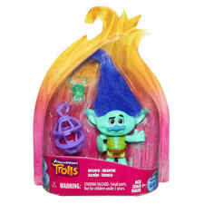 DreamWorks Trolls Branch Collectible Figure Hasbro Doll Poppy Action Light Toys