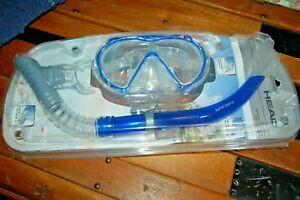 Head Sailfish/Grouper Splash Adult Combo Swim Mask & Snorkel Set BLUE