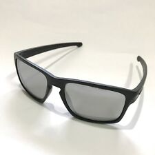 Oakley Sunglasses * Sliver 9262-26 Matte Black Chrome Iridium COD PayPal