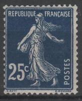 "FRANCE STAMP TIMBRE YVERT N° 140b "" SEMEUSE 25c BLEU NOIR "" NEUF xx LUXE  P361"