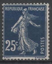 "FRANCE STAMP TIMBRE 140b "" SEMEUSE 25c BLEU NOIR "" NEUF xx LUXE  P366"