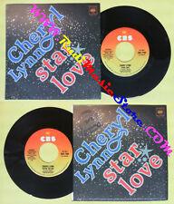LP 45 7'' CHERYL LYNN Star love You're the one 1978 italy CBS 7140 no cd mc dvd