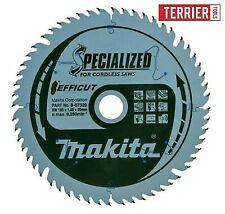 Makita B-57320 Efficut Cordless Plunge 165 mm 56T TC Saw Blade