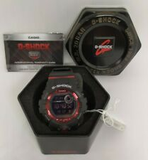 100% Authentic G-SHOCK #GBD-800-1B black/red