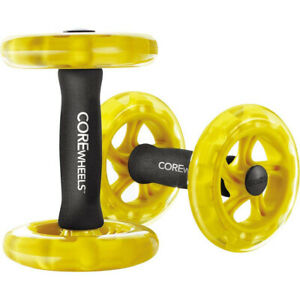 SKLZ Core Wheels Dynamic Strength Trainer - Yellow