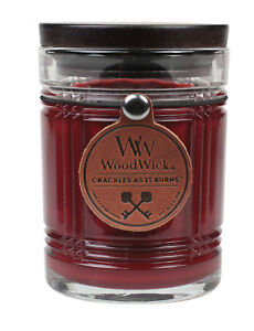 WoodWick RESERVE Candles * Leather Hangtag * Wood Lid * Pluswick * Choose Scent