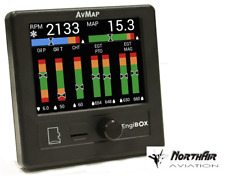 EMS EngiBox AvMap, Avionics for Aircraft, Color LCD, with Datalogger