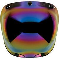 BILTWELL BULLE casque BUBBLE RAINBOW Visière bombée antibuée casque 3 pressions