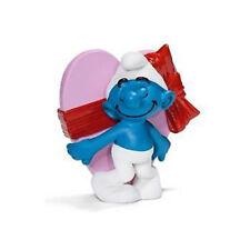 Valentine's Day Smurf Schleich smurfs toy figure NEW figurine carrying heart