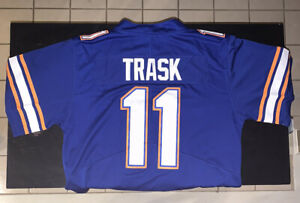 Florida Gators Kyle Trask # 11 Jersey Blue Stiched QB Size Small S