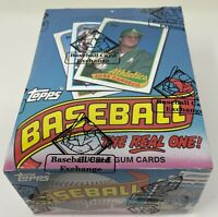 1989 TOPPS MLB Baseball Card BOX 36 Unopened Wax PACKS Sealed Wrapped BBCE FASC