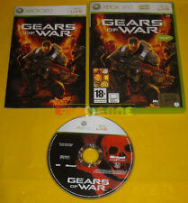 GEARS OF WAR 1 XBOX 360 Versione Ufficiale Italiana 1ª Edizione Gear »» COMPLETO