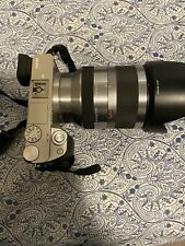 sony alpha a6000 With 18-200 Lens + Accessories