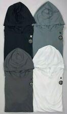 Men's Hurley Dri-Fit Q/D Quick Dry Hooded long Sleeve Surf Swim Shirt UPF 50+