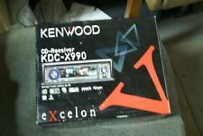 KENWOOD EXCELON KDC-X990 CD Receiver **RARE** OLD SCHOOL