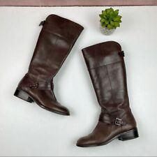 Ralph Lauren Brown Maritza Leather Boots Women Size 7.5