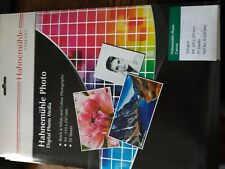 Hahnemuhle Photo Canvas A4 10 SHEETS 10641940 320gsm for all inkjet printers
