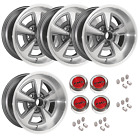 YEARONE PONTIAC 17 X 9 Cast Aluminum Rally II Wheels. KIT RED PMD