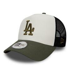New Era Para hombre Gorra de Béisbol. MLB LA Dodgers un marco Blanco Malla Camionero Sombrero 8W1 16