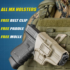 Fab Defense MX Level 2 Retention Holster w/ 360 Swivel - ALL Models