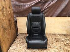 JAGUAR 04-07 XJ R XJR XJ8 L FRONT LEFT BLACK LEATHER SEAT CUSHION HEATED OEM
