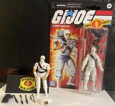 GI Joe Cobra Hasbro Retro Storm Shadow Figure And black Major Ninja LOT