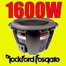 "Rockford Fosgate 12"" 12-inch 1600W CAR AUDIO Power Bass Sub Subwoofer T1D212"