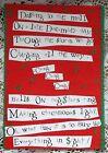 ~ 8. VINTAGE HALLMARK SHOEBOX  FUNNY HUMOR XMAS CARDS W 8 GREEN  ENVS ~