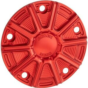 Arlen Ness 700-030 10-Gauge Point Cover Red Harley Twin Cam 99-17