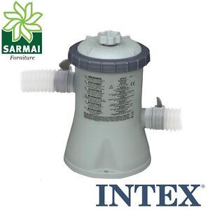 POMPA per piscina fino a 7,9 mc INTEX 28602 da 1250 Lt/H completa di FILTRO