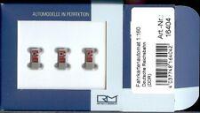 Rietze 16404: Fahrkartenautomaten der DR, 1 Packung mit 3 Stück, N 1:160