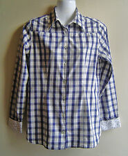 Collared Check Semi Fitted NEXT Tops & Shirts for Women
