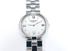 Raymond Weil Allegro White 9117 Roman Numerals Stainless Steel 34mm Quartz