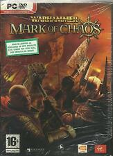 WARHAMMER MARK OF CHAOS PAL ESPAÑA NUEVO PRECINTADO PC