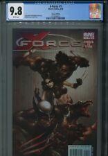 X-Force 1 CGC 9.8 Bloody Variant 2008 Wolverine X-23 Uncanny X-Men NEW Holder