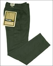 Bnwt Authentic Women's Valley Wrangler Cargo Combat Jeans Trail Fit Green
