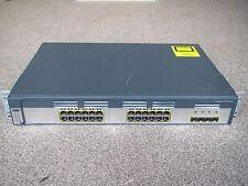 Cisco WS-C3750G-24TS-E Interruptor 24x SFP Puertos Gigabit 4x + 122-53 ServiciosIP