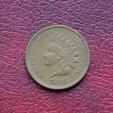 More details for usa 1866 bronze small cent