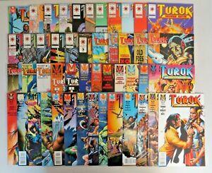 Turok Dinosaur Hunter #0-47 (1993) VF/NM to VG Complete Series Valiant Comics