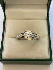 vintage platinum engagement ring Mounting