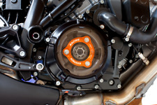 EVOTECH COUVERTURE EMBRAYAGE+PLAQUE DE PRESSION NOIR ORANGE KTM 1290 SUPER DUKE