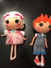 2 Lalaloopsy Dolls Retired Suzette La Sweet & Ace Fender Bender Full Size