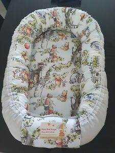 Baby Pod Nest Reversible Bed Sleep Cushion Winnie The Pooh