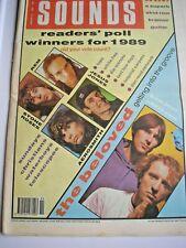 SOUNDS magazine January 13th 1990 Finitribe TV Personalities
