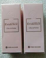 Yves Rocher - Eau de Parfum COMME UNE ÉVIDENCE vapos 2*50ml neufs sous blister