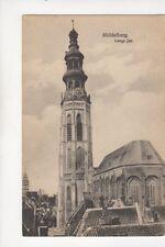 Middelburg Lange Jan Vintage Postcard Netherlands 067b