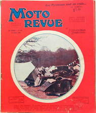 1930 MOTO REVUE  BCR 500 PARIS LES PYRENEES ADAC CHAINES OU CARDAN