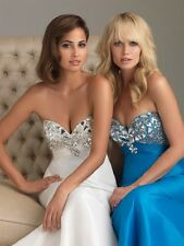 Night Moves by Allure 6431 Turquoise  Size 4 Special Occasion-Prom-Military Ball