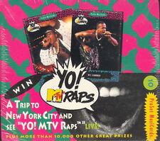 YO! MTV RAPS SERIES 1 1991 PRO SET FACTORY SEALED TRADING CARD BOX OF 36 PACKS