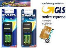 Caricabatterie Varta per 2 batterie AA o AAA pile ministilo / stilo ricaricabili